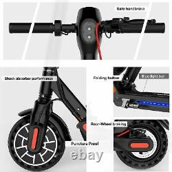 2021 New Electric Scooter Long Range Folding, Adult Kick E-scooter Smart Control