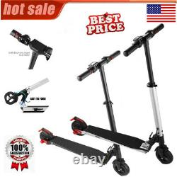 Adjustable Height Children/Adult Kick Scooter/Electric Scooter Folding E-Scooter