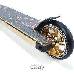 Crest Custom Pro Scooter. Cool scoote Gold For Kids Christmas Gift Item