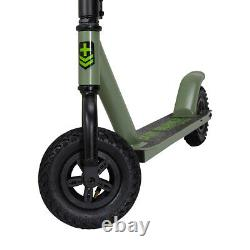 Dirt-X Off Road Kids & Adult Stunt Push Scooter Green For Christmas Gift Item