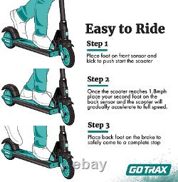 Gotrax GKS Electric Scooter for Kids Age of 6-12, Kick-Start Boost and Gravity S