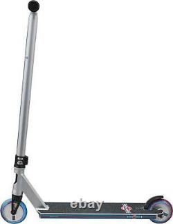 Lucky Cody Flom Signature Pro Complete Stunt Scooter, Silver, Blue, Red