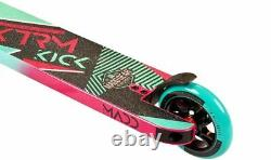 Madd Gear MGP Kick Extreme V5 Childrens Complete IHC Scooter Teal / Pink