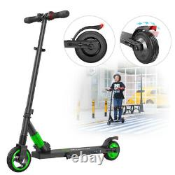 Megawheels Folding Electric Scooter Kick Scooter Kids E-Scooter 250W 5.0Ah Green