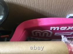 Micro Maxi Deluxe Pink Scooter New