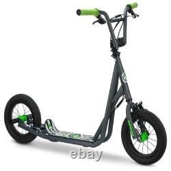 Mongoose 12 Expo Scooter BMX Freestyle Pegs Offroad Sidewalk Trail Sports Kids