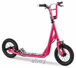 Mongoose Scooter For Kids 12 Wheels Front And Rear Caliper Brakes Rear Axle Peg