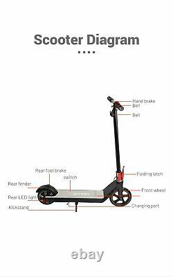 NEW Electric Kick Scooter Kids Foldable eScooter Board 15KM/H Portable From USA