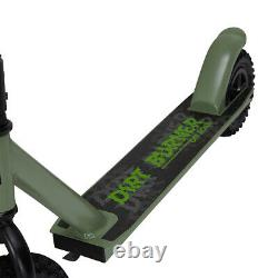 Off Road Kids & Adult Stunt Push Scooter Green For Birthday Gift Item F1