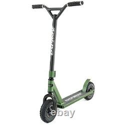 Osprey All-Terrain Scooter with Aluminium Deck and Rubber Tyres in Green