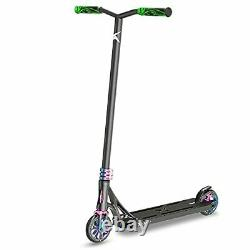 Pro Scooter Trick Scooters for Teens, Kids and Adults, with 120mm (Black)