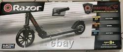 Razor Power A5 Black Label, 22 Volt Lithium Ion Kick Electric Powered Scooter
