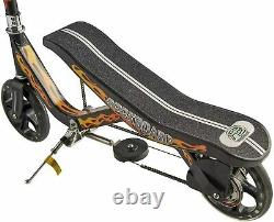 Rockboard RBX Kick Scooter in Black with Brakes and Air Suspension for Kids