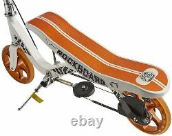 Rockboard RBX Kick Scooter in White with Brakes and Air Suspension for Kids