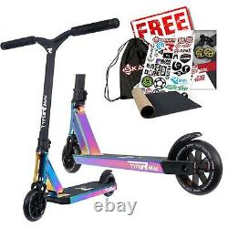Root Industries Type R MINI Childrens Stunt Scooter Rocket Fuel Neochrome
