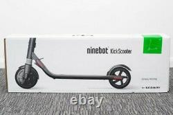 Segway Ninebot Gray Kick Electric Scooter ES2 15.5 mph travel up to 15.5 miles