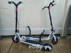 Set of Two Pulse Kick N Go Nitrous Scooters Black, White and RED