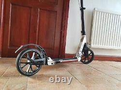 Silver Adults & Children's Easy Fold-Away kick/Push/Stunt Scooter (Oxelo) J