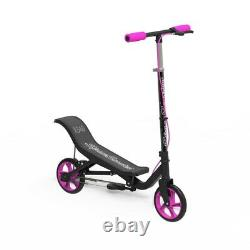 Space Scooter X540 Pink Ride On Push Kick Adjustable Kids Toy Girls Outdoor New