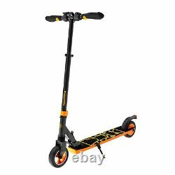 Swagtron Swagger 8 Folding Electric Scooter for Kids & Teens Kick Scooter Orange