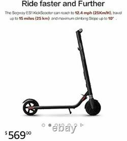 The ES1 Kick Scooter by Segway