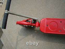 Vintage 1970's Honda Kick-n-go Red Scooter With Original Paint And Stickers